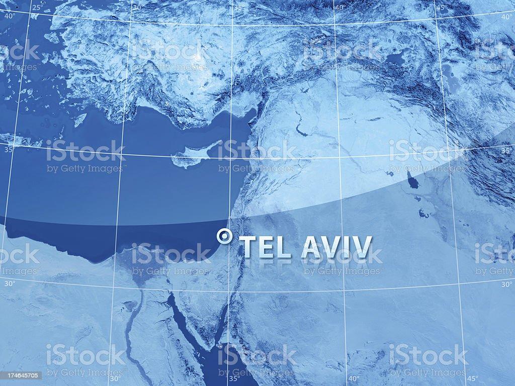 World City Tel Aviv royalty-free stock photo