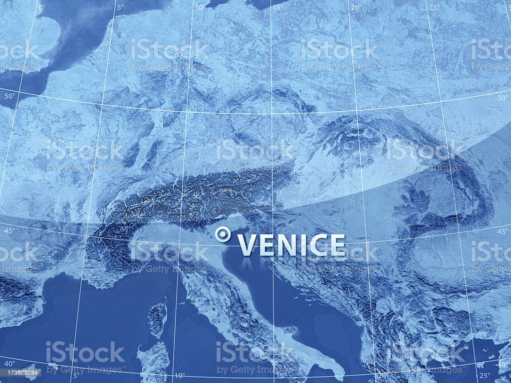 World City Venice royalty-free stock photo