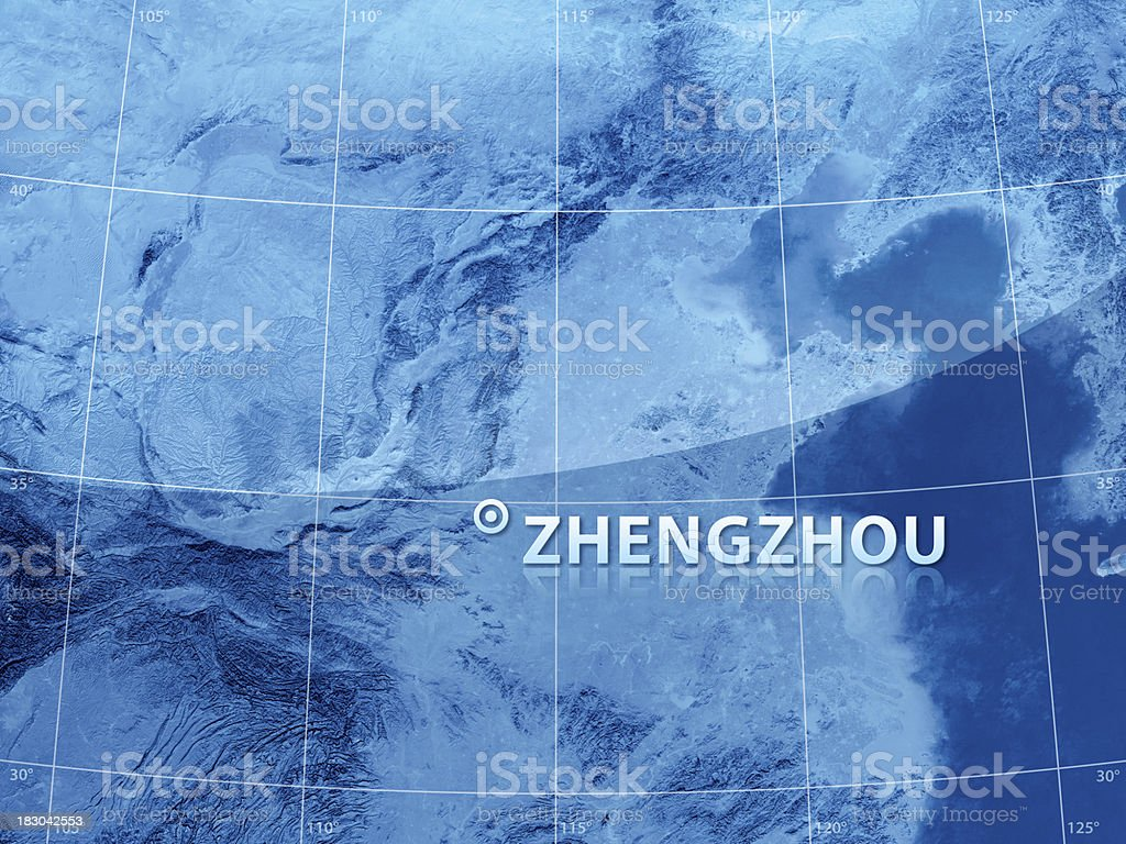 World City Zhengzhou stock photo