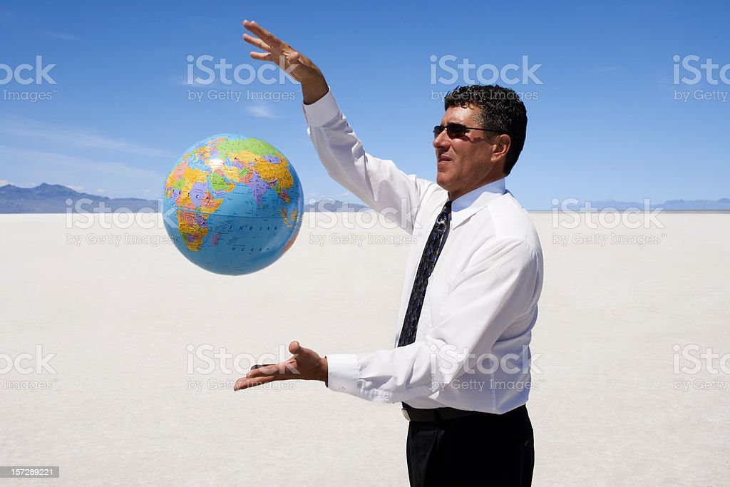 World Control royalty-free stock photo