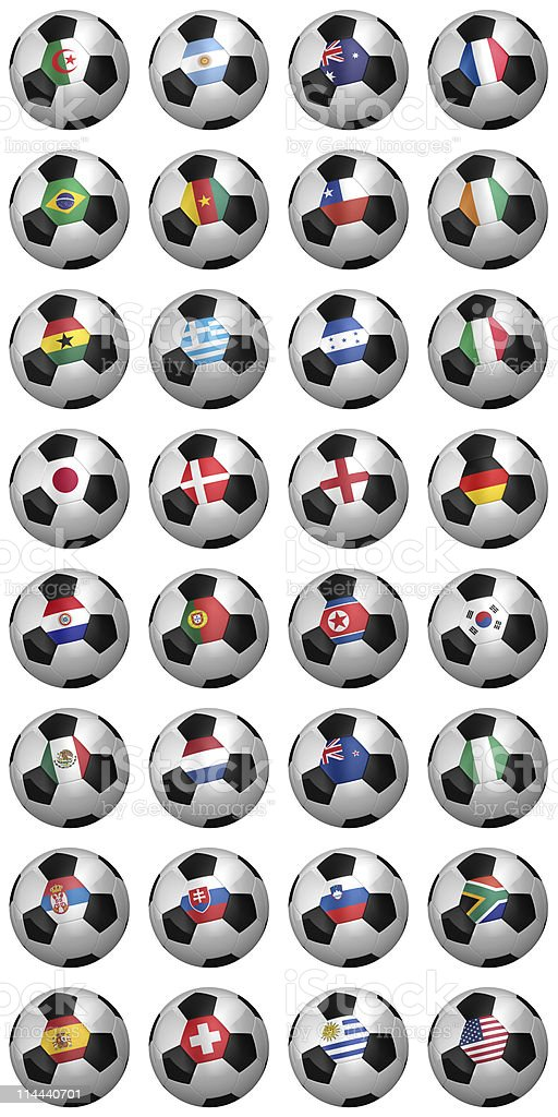World Cup 2010 royalty-free stock photo