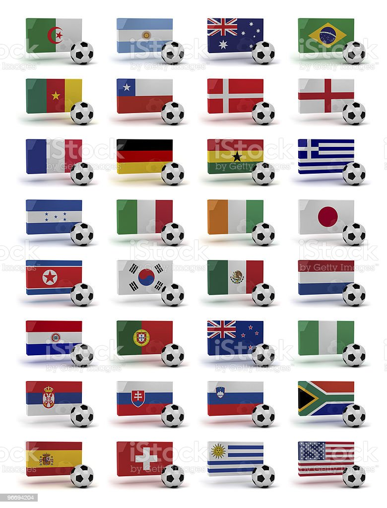 World Cup 2010 stock photo