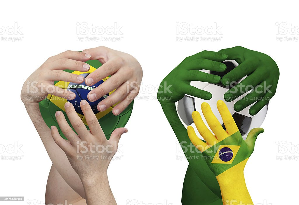 World cup Brazil 2014 royalty-free stock photo