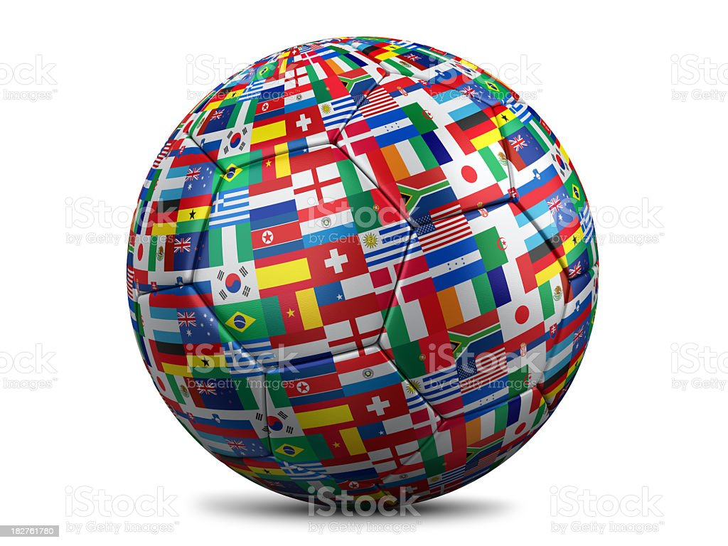 World cup football royalty-free stock photo