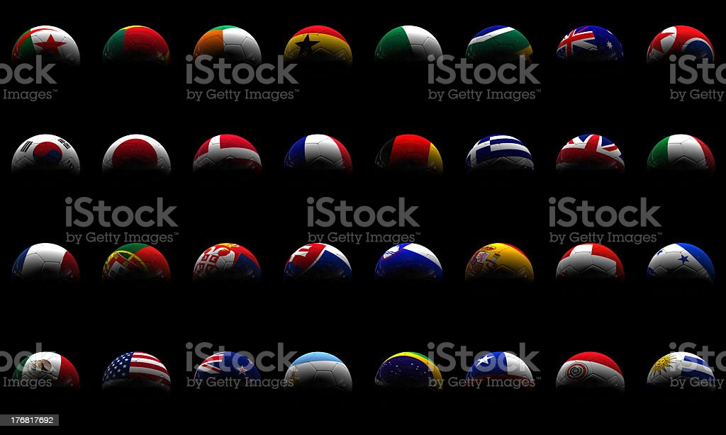 World Cup in South Africa royalty-free stock photo