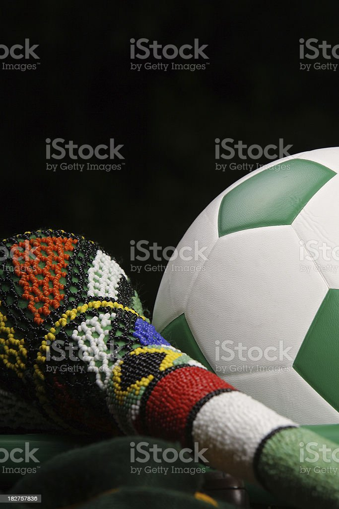 World Cup Soccer South Africa royalty-free stock photo