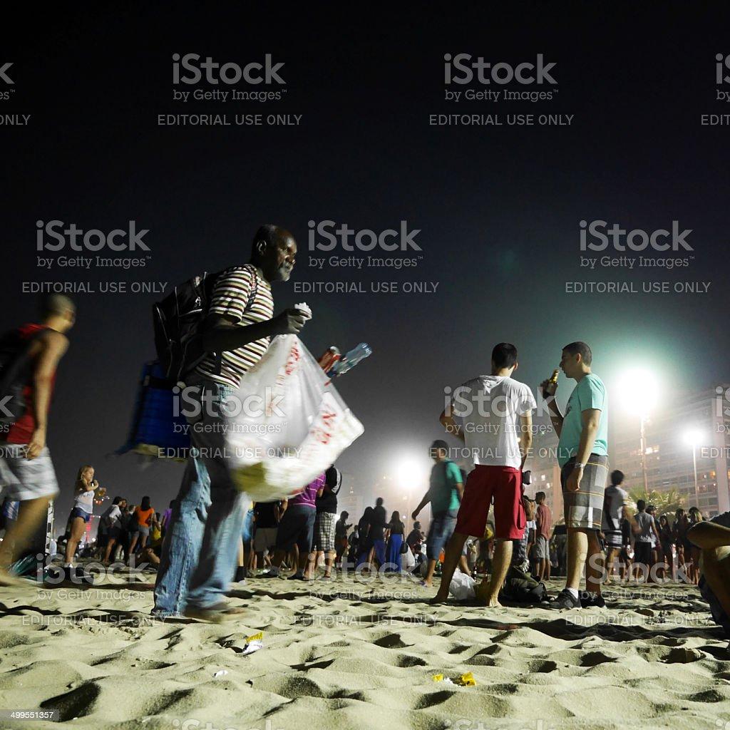 World Cup vendor stock photo