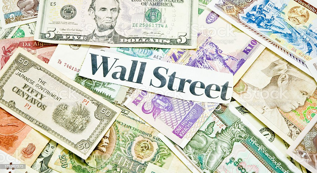 Wall Street stock photo