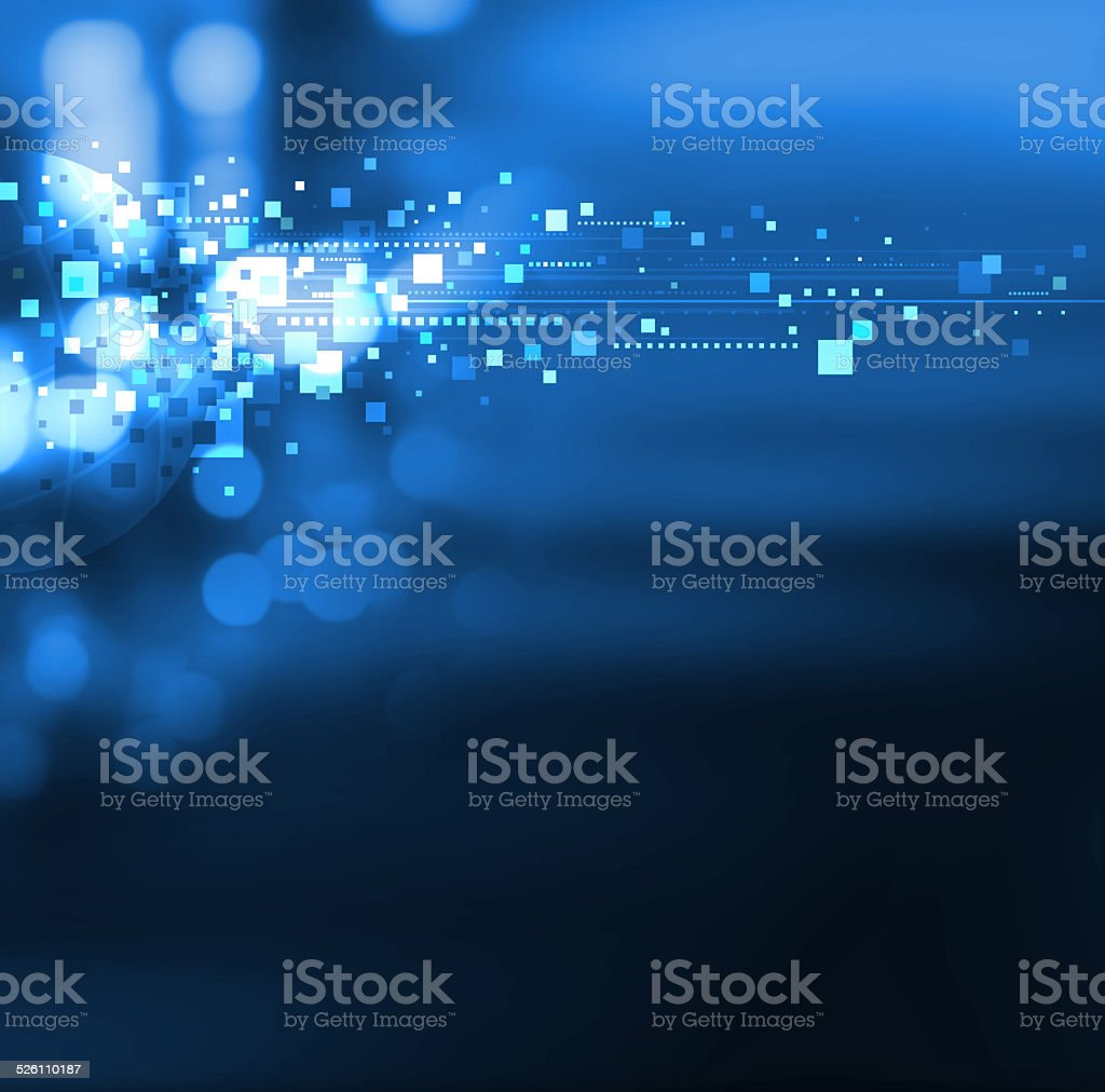 World digital design stock photo