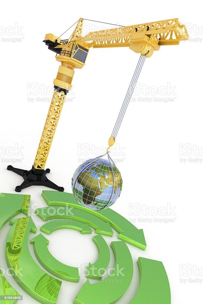 World ecology royalty-free stock photo