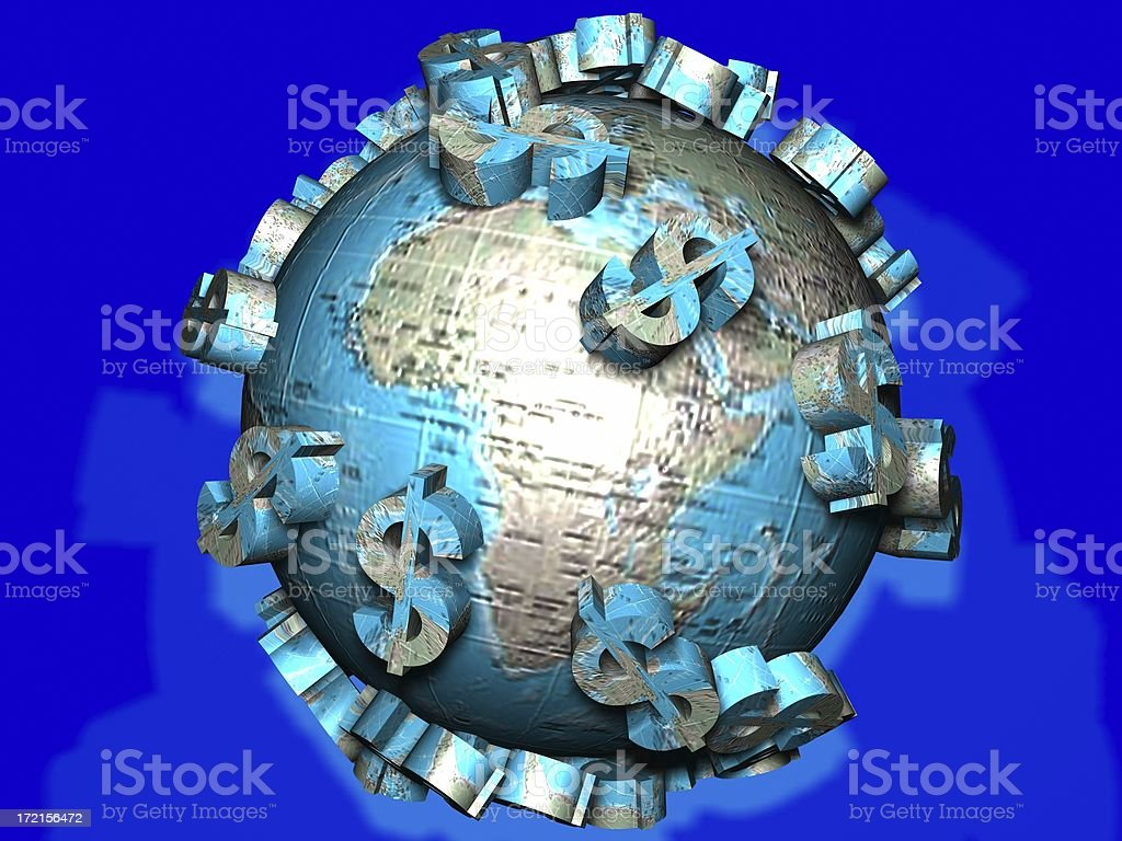 World Economy royalty-free stock photo