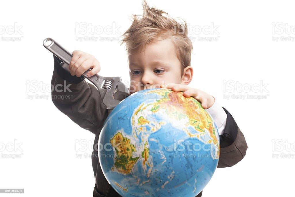 World employee royalty-free stock photo