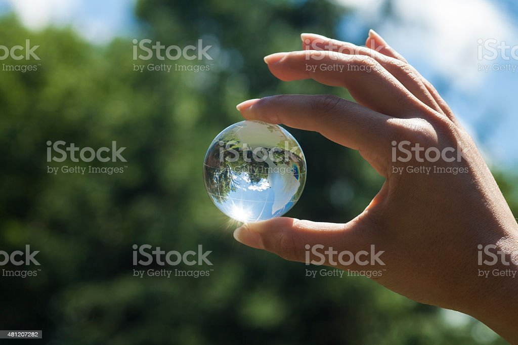 World environment concept stock photo