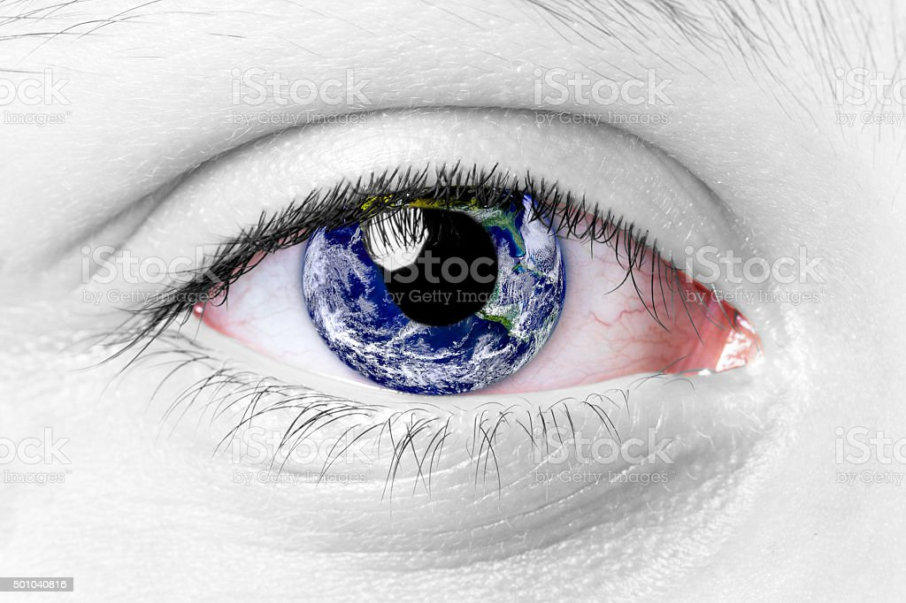 World Eye stock photo