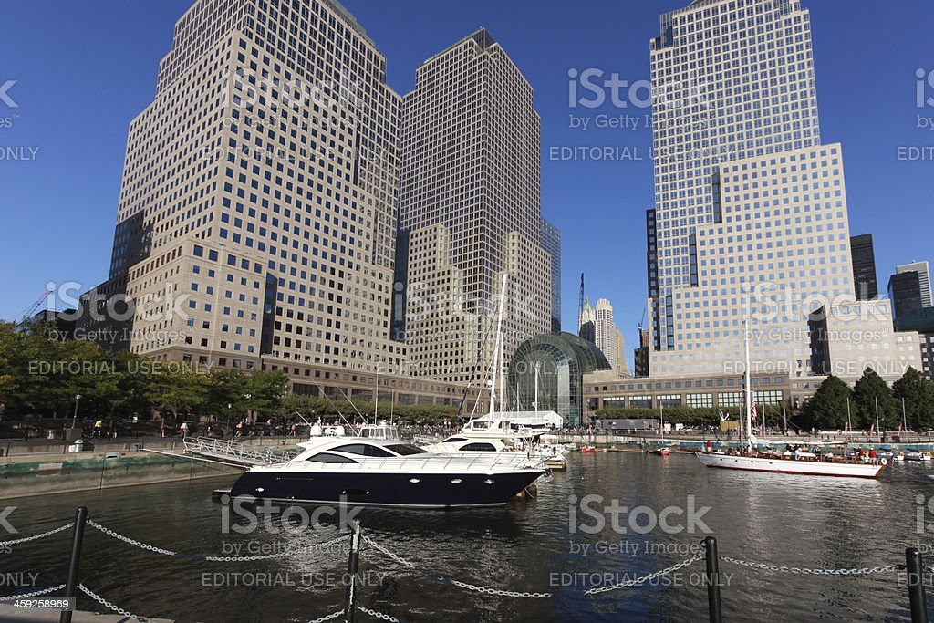 World Financial Center in New York City royalty-free stock photo
