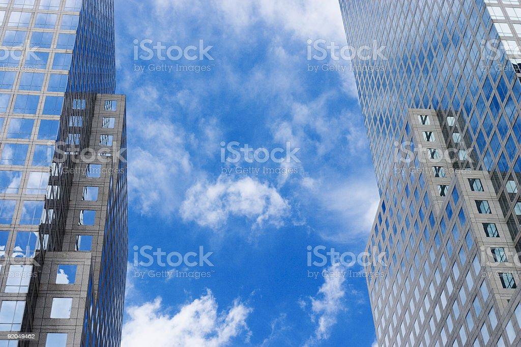 World Financial Center stock photo