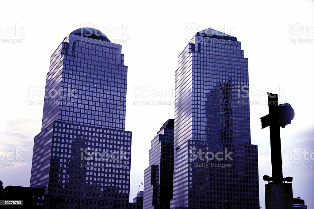 World Financial Center royalty-free stock photo