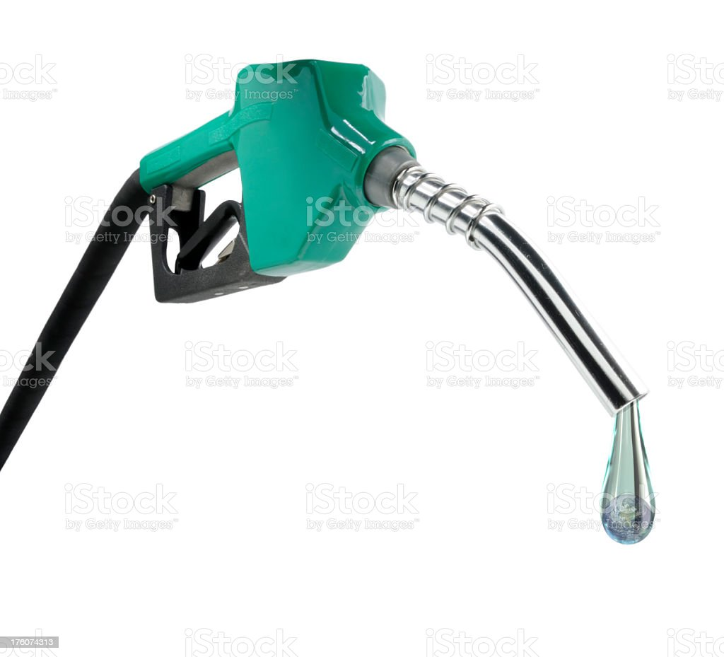 World Gas Pump royalty-free stock photo
