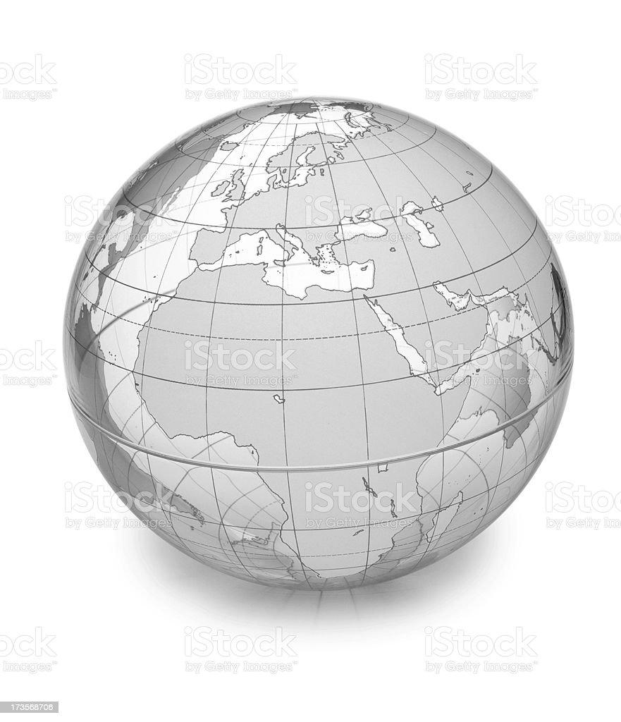 World Globe- Europe&Africa royalty-free stock photo