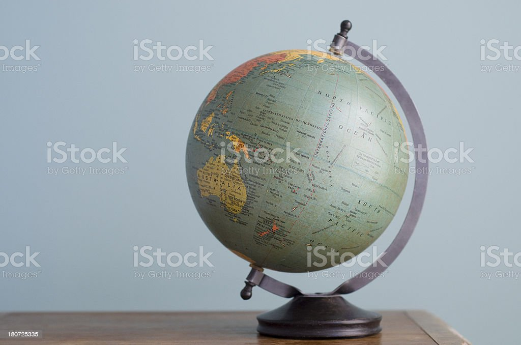 World Globe for school use royalty-free stock photo