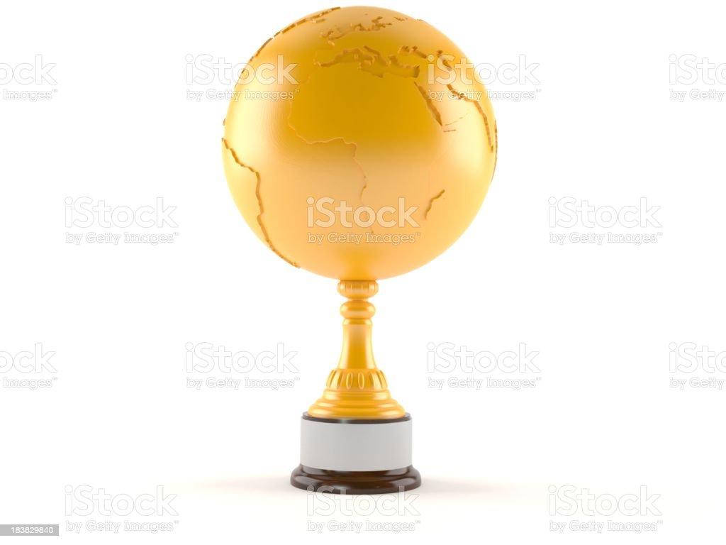 World globe royalty-free stock photo