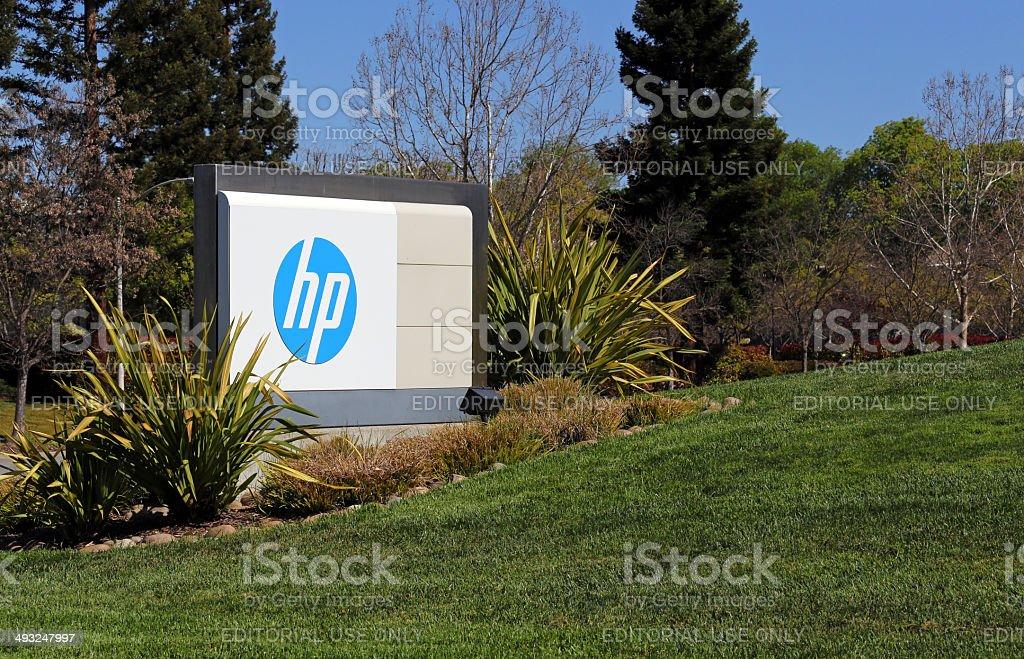 HP World Headquarters stock photo