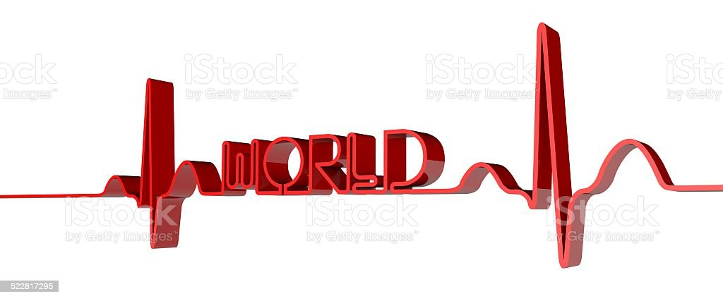 World health stock photo