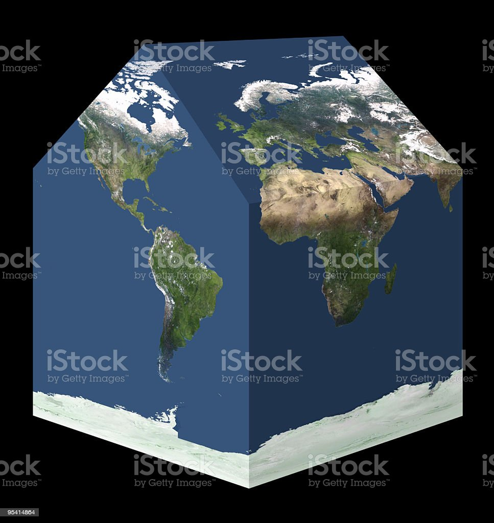 World house royalty-free stock photo