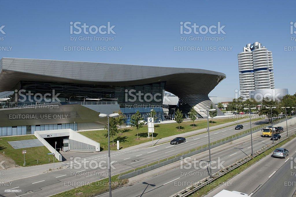 BMW World in Munich stock photo