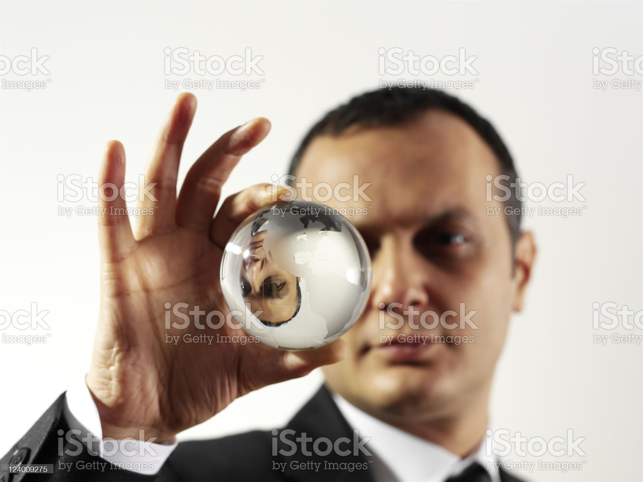 World in my hand royalty-free stock photo