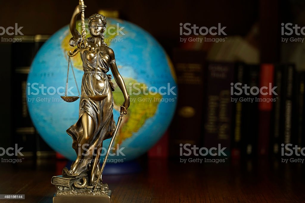 world justice stock photo