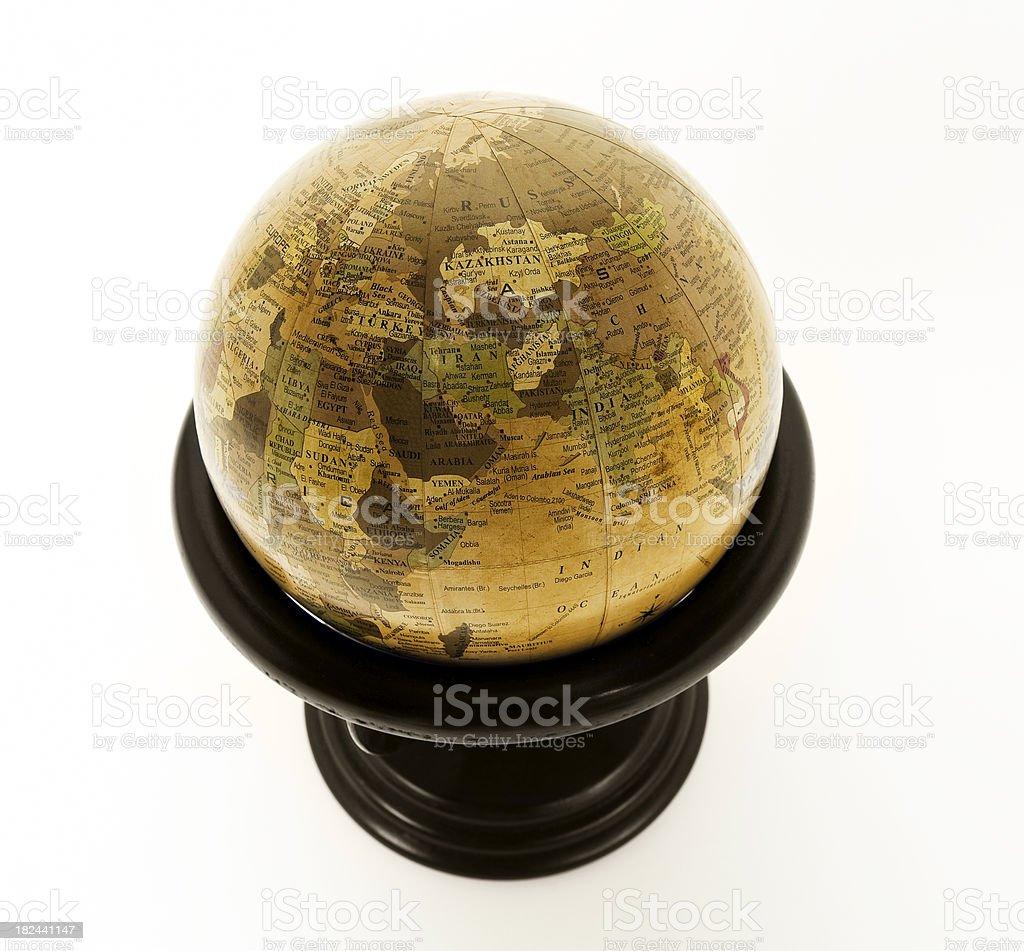 World map globe royalty-free stock photo