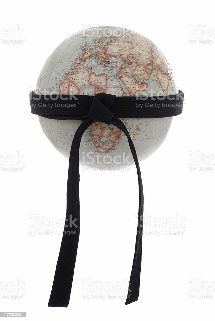 World martial arts organization stock photo