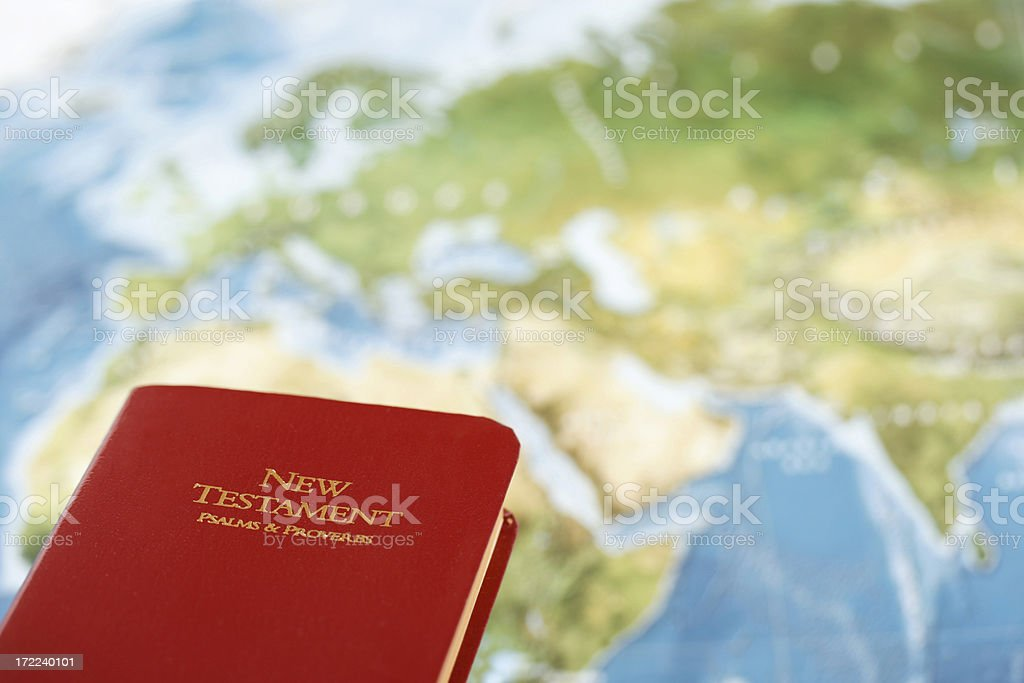 World Missions with Copyspace royalty-free stock photo
