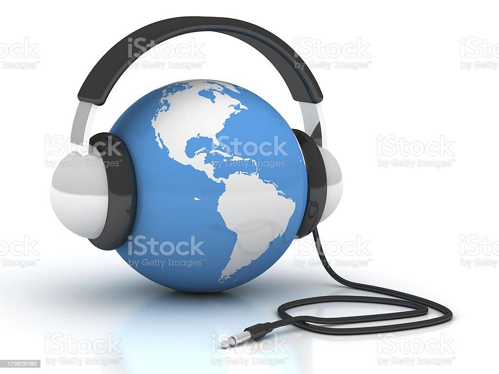 World music stock photo
