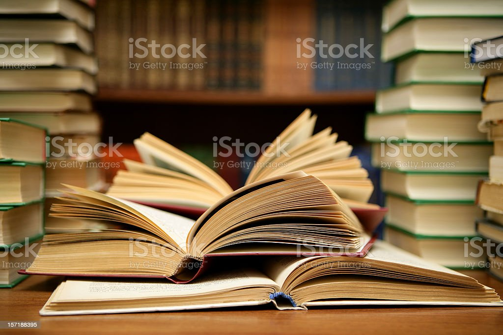 World of books royalty-free stock photo