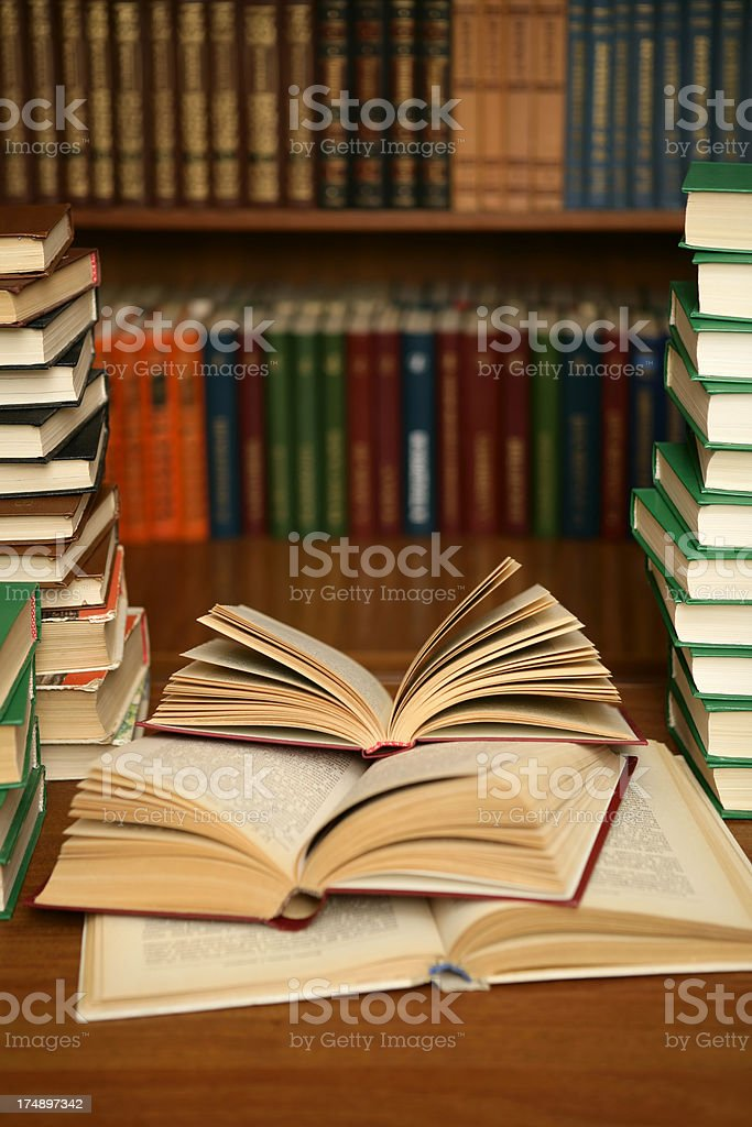 World of books stock photo