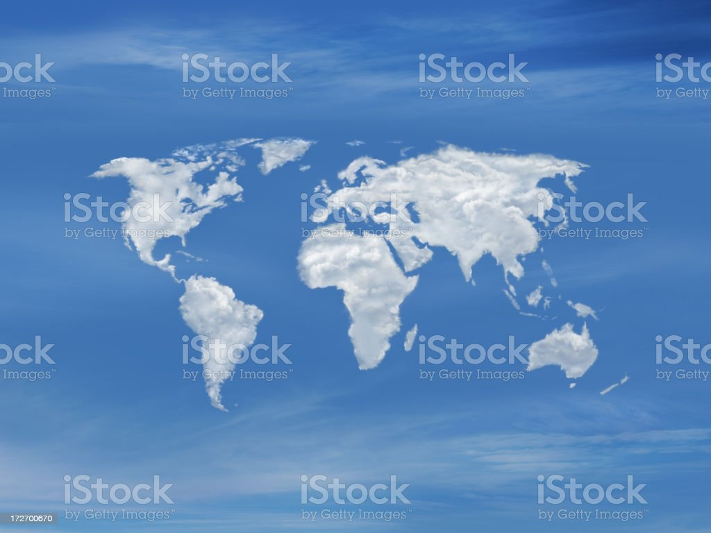 World of Clouds 2 royalty-free stock photo