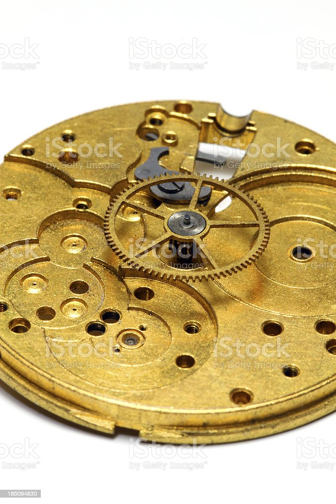 World of Gears royalty-free stock photo