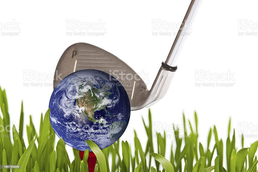 World of golf royalty-free stock photo