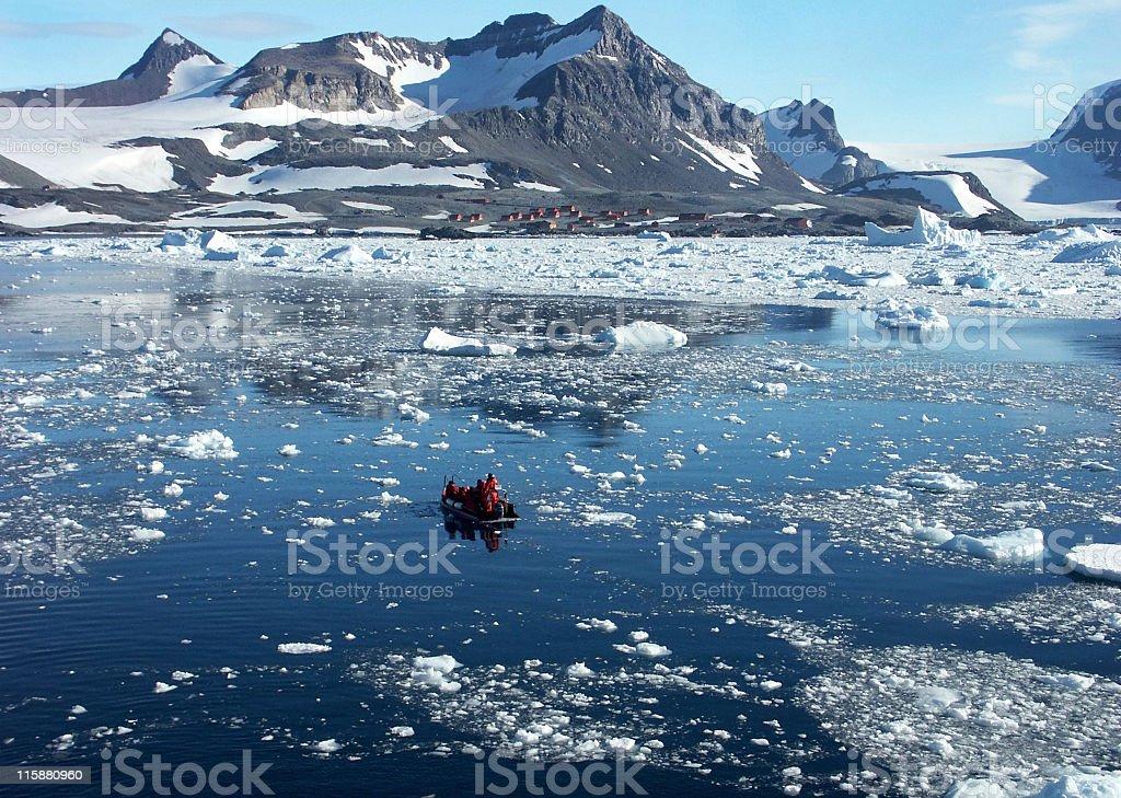 World of ice stock photo