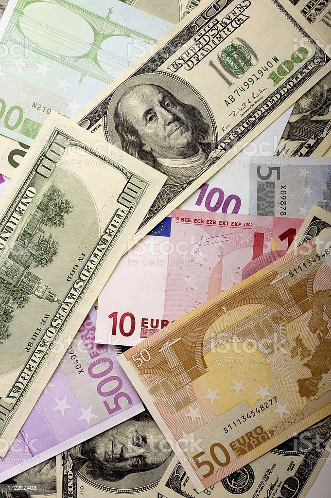 World of Money royalty-free stock photo