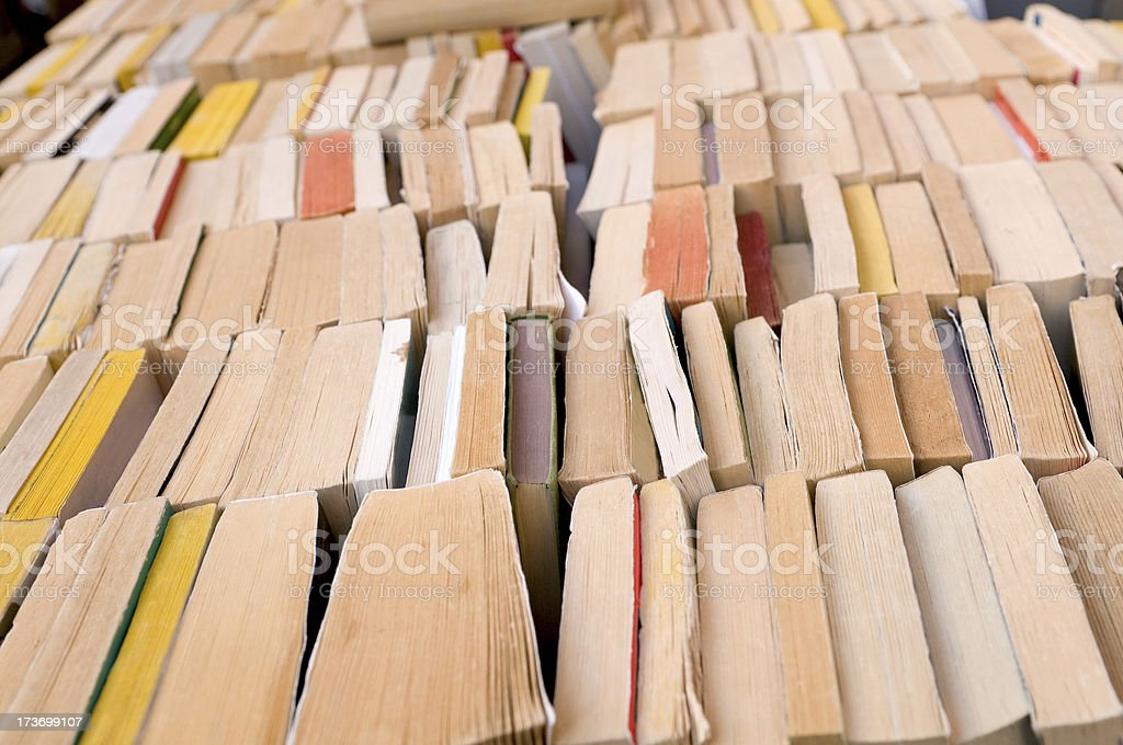 World of old books stock photo