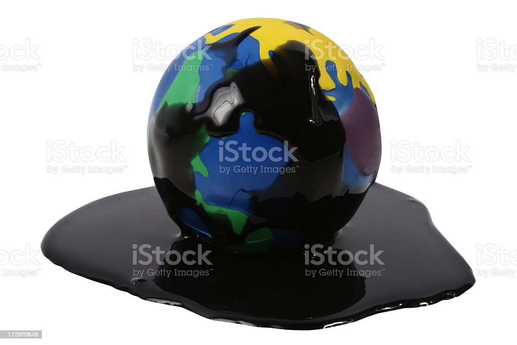 World Oil royalty-free stock photo