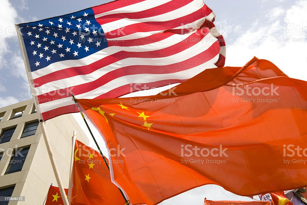 World Powers royalty-free stock photo