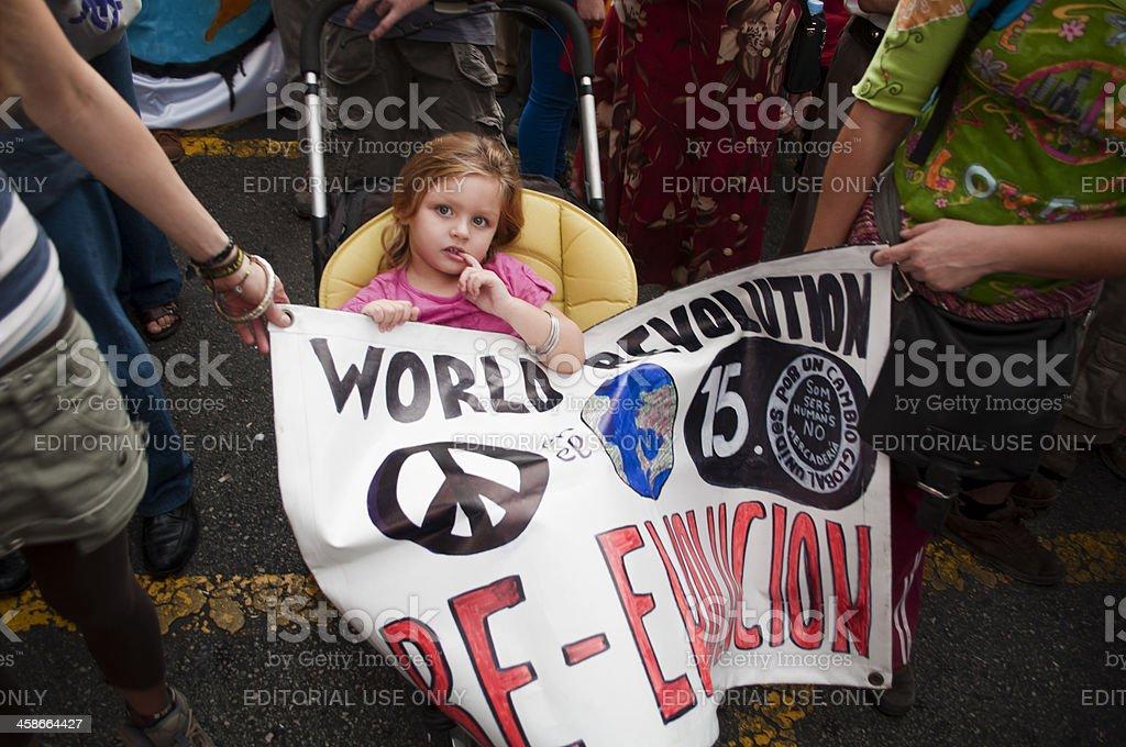 World Revolution royalty-free stock photo