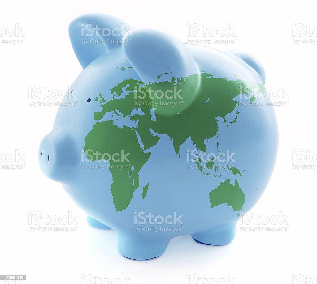 World Savings royalty-free stock photo