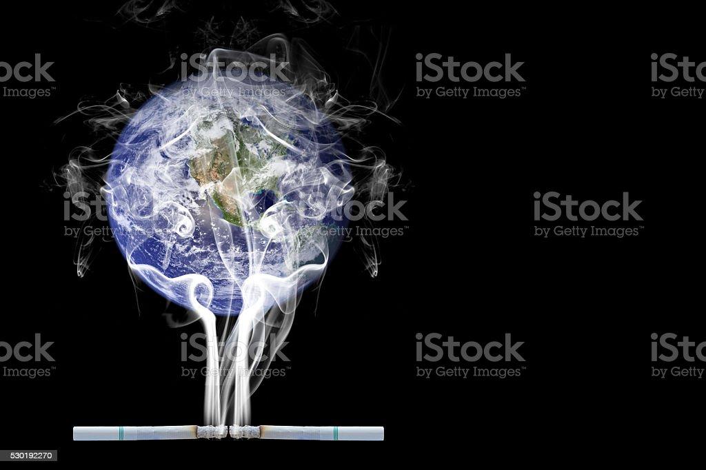World Smoking stock photo