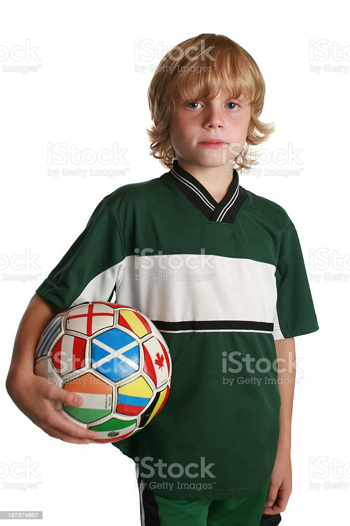 world soccer boy royalty-free stock photo
