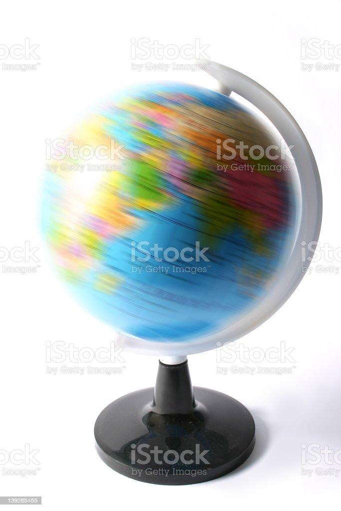 World Spinnin stock photo